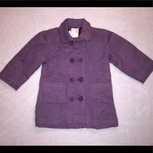 Toddler Girls Old Navy Peacoat Size 2T.
